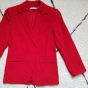alice + olivia NWOT 'Helena' blazer in Ruby — sz 6
